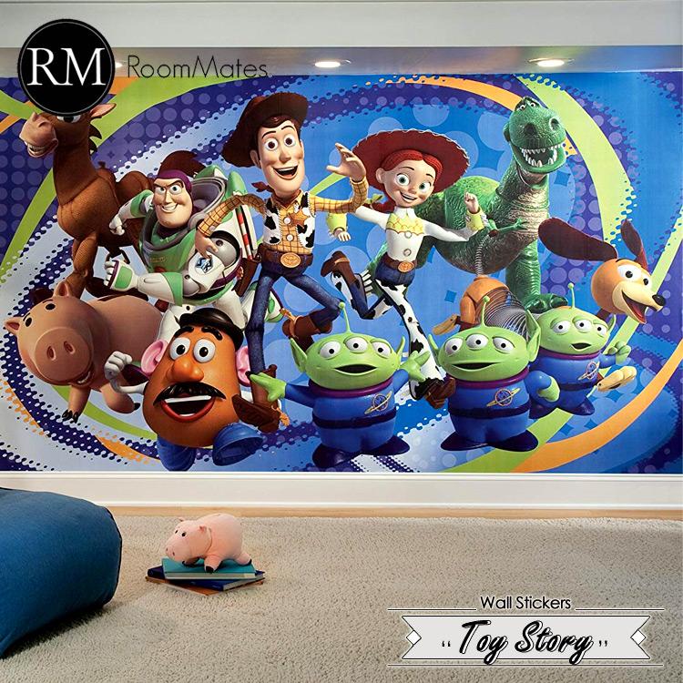 【ママ割エントリーでP5】 RoomMates ディズニー トイストーリー3 ウォールシール XL