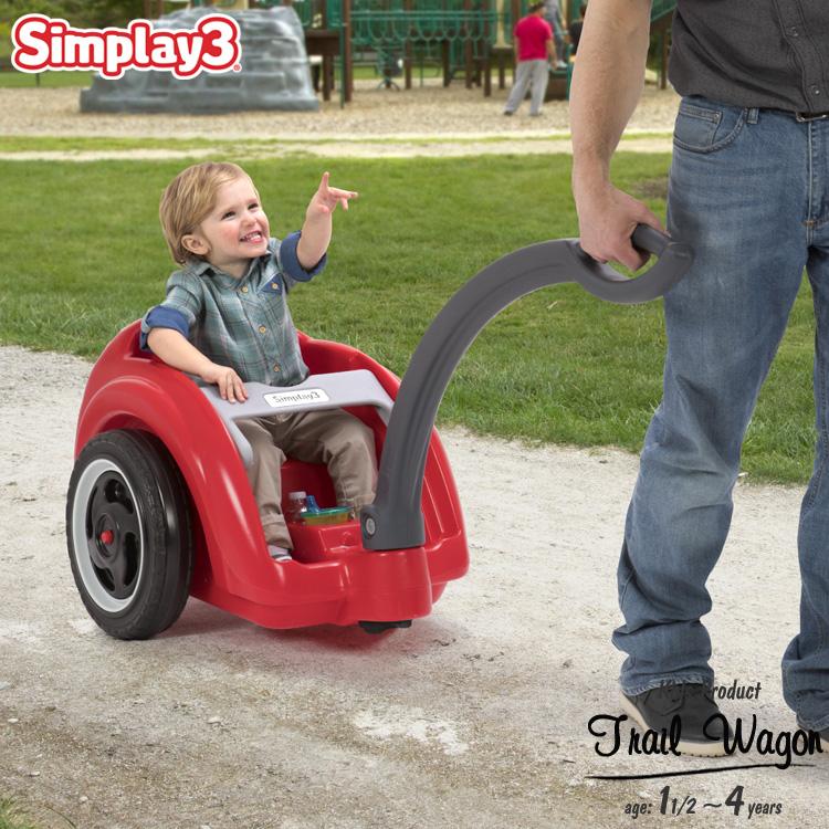 【スーパーSALE割引商品】キャリーワゴン アウトドアワゴン トレイルマスター ワゴン 1歳半から 大型タイヤ simplay3