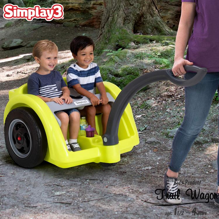 【割引クーポン有】キャリーワゴン アウトドアワゴン トレイルマスター ワゴン 2人乗り 1歳半から 大型タイヤ simplay3 /配送区分A