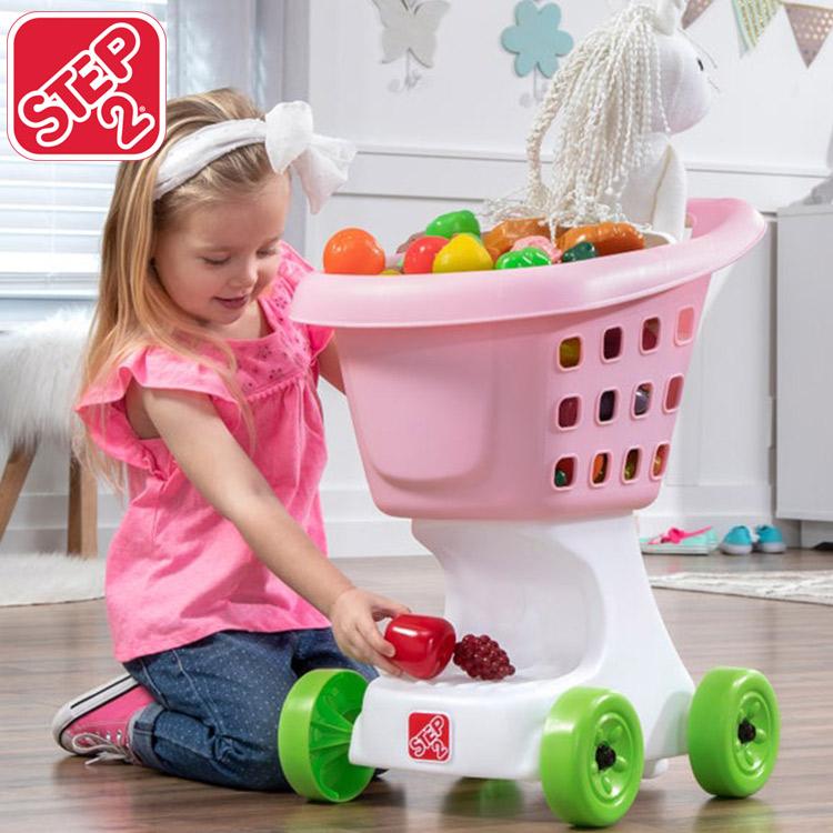 【大決算・割引商品】ステップ2 リトルヘルパー ショッピングカート ままごと ピンク 2歳から STEP2 708500