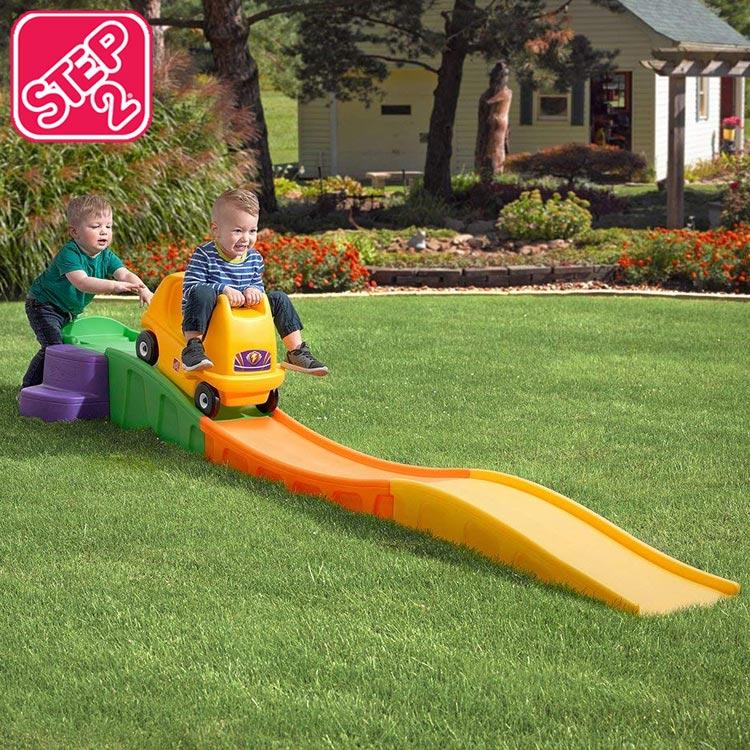 Online ONLY(海外取寄)/ ステップ2 アップ&ダウン ローラーコースター 乗用玩具 STEP2 711400 /配送区分B