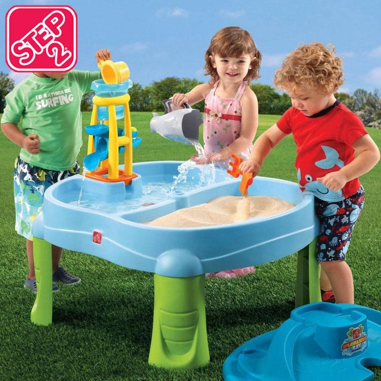 Online ONLY(海外取寄)/ ステップ2 スプラッシュ & スクープベイ 2歳から 水 砂 遊び STEP2 726700