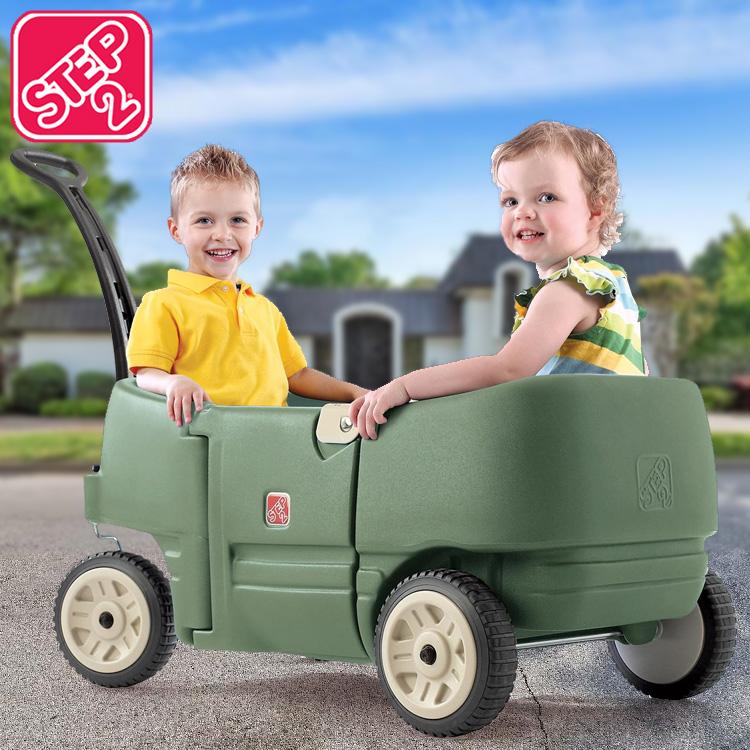 【スーパーSALE割引商品】ステップ2 ワゴン フォートゥープラス 乗用玩具 STEP2 766500 /配送区分A