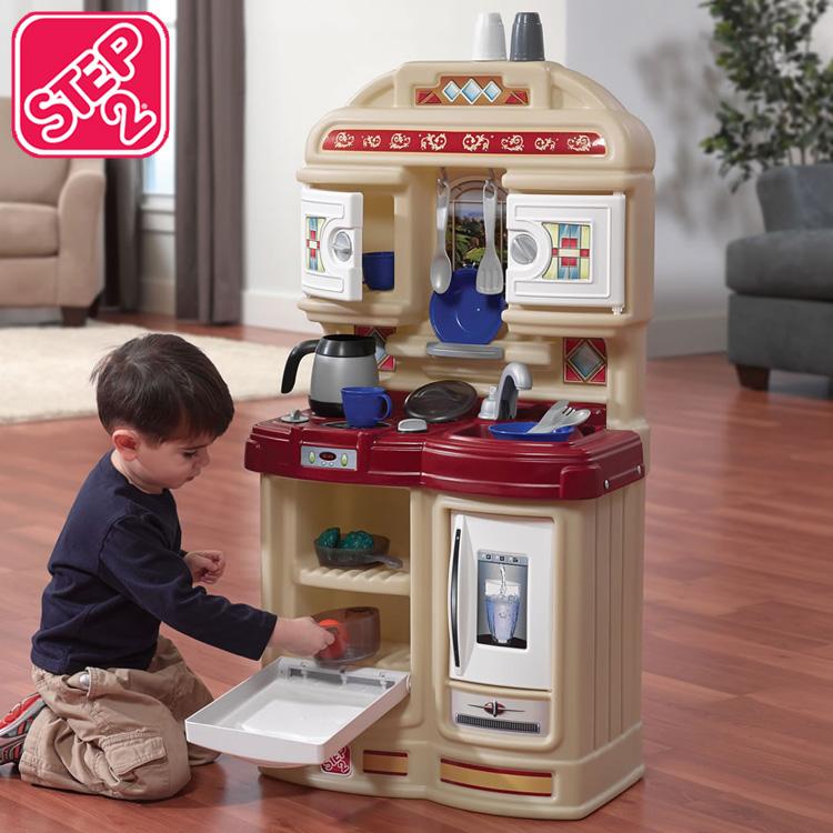 【スーパーSALE割引商品】ステップ2 おままごと 遊具 コージー キッチン STEP2 810200