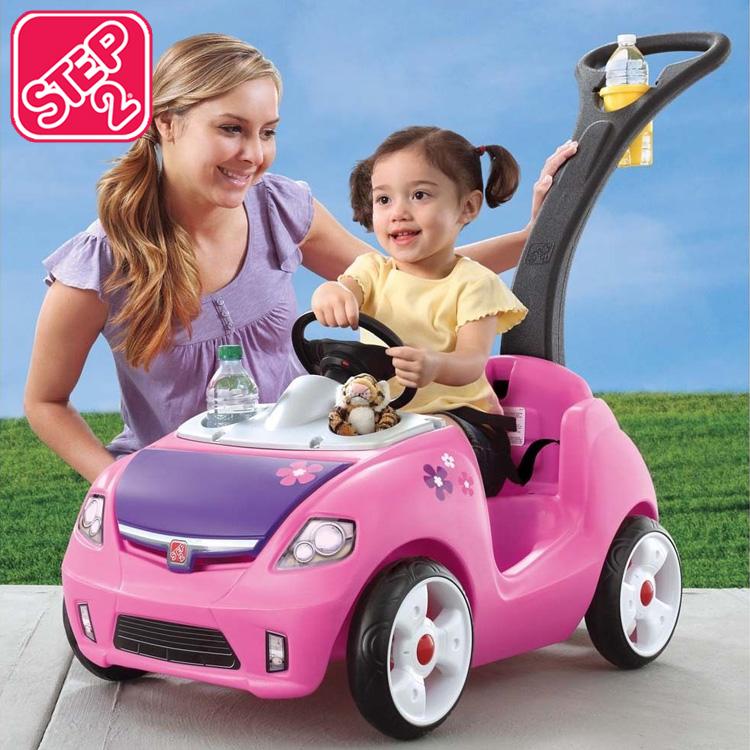 【割引クーポン有】ステップ2 アウトドア ウィスパーライド2 ピンク 乗用玩具 STEP2 824200 /配送区分A