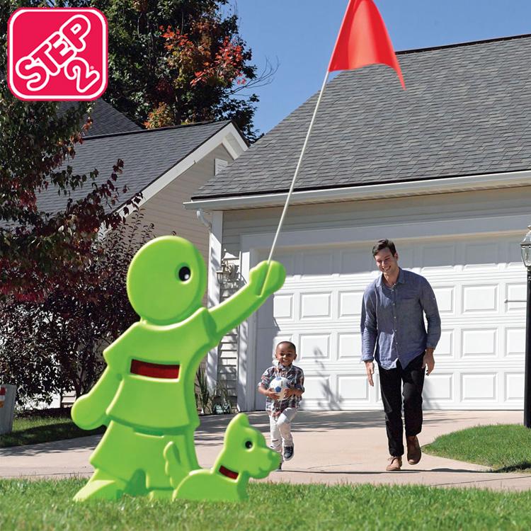 ステップ2 851704 お洒落 851799 正規販売店 おもちゃ 幼稚園 飛び出し君 飛び出し注意標識 飛び出し防止 安全看板 STEP2 飛び出し注意 注意看板 パピー 9月中旬入荷予約販売 豊富な品 看板 注意喚起 キッズアラート 標識