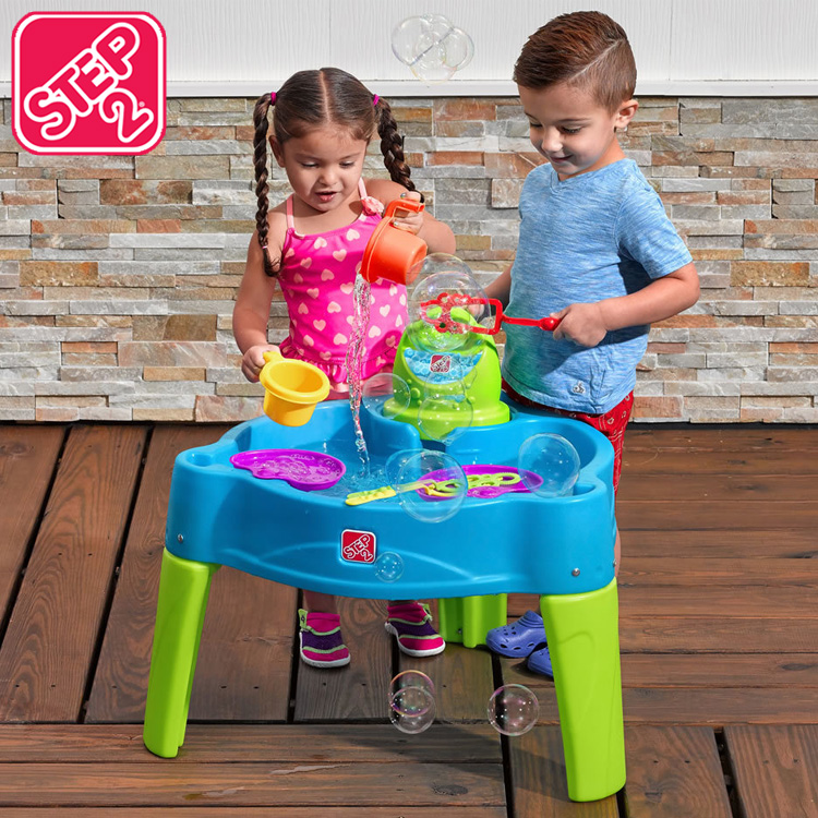 【大決算・割引商品】ステップ2 ビッグバブル スプラッシュ ウォーターテーブル 水遊び 3歳~ STEP2 861900