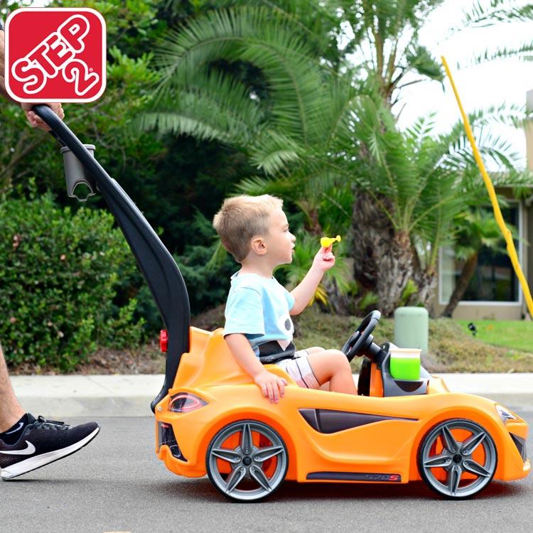 【スーパーSALE割引商品】ステップ2 マクラーレン 570S プッシュスポーツカー 乗用玩具 STEP2 879900 /配送区分A