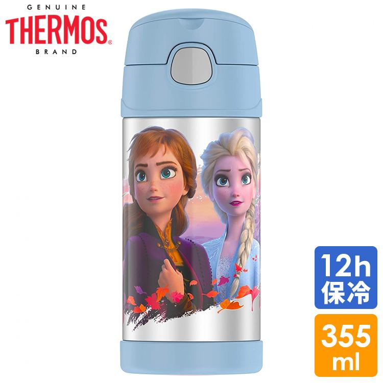 サーモス ディズニー アナと雪の女王  ステンレス マグ 水筒 ストロー付 THERMOS