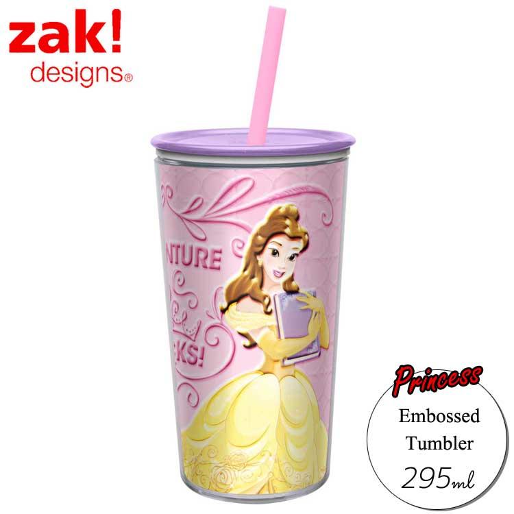 zak ストロー エンボスタンブラー ディズニー プリンセス princess