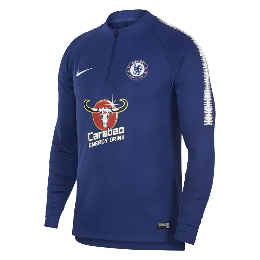 pretty nice d56e0 dac8b NIKE (Nike) 914007 2018/19 Chelsea F.C. SQUAD drill top soccer training  suit jersey 1901_club