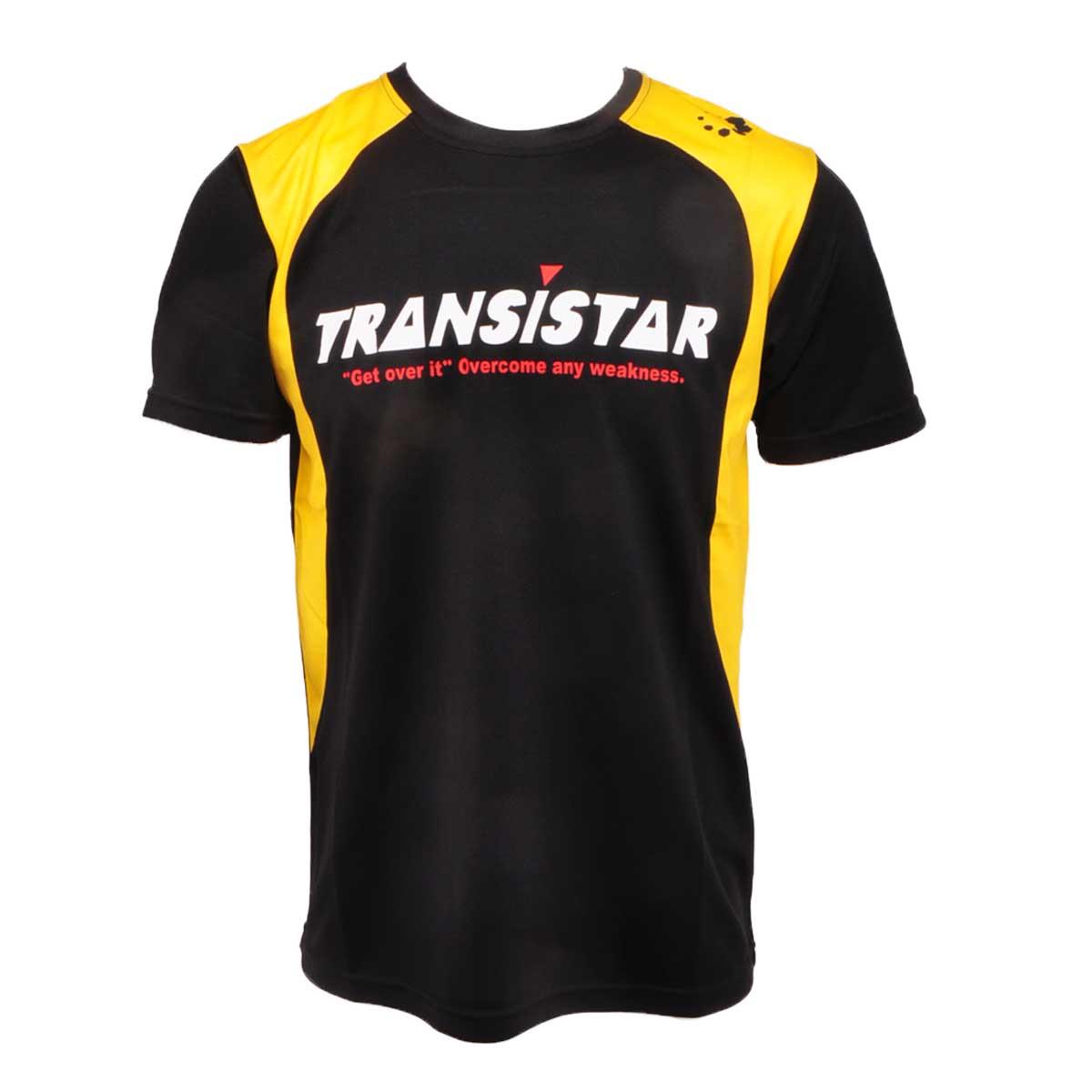 メール便OK TRANSISTAR トランジスタ HB21ST07 HB S 安心の実績 高価 買取 強化中 ゲームシャツ 半袖Tシャツ ハンドボールシャツ 激安