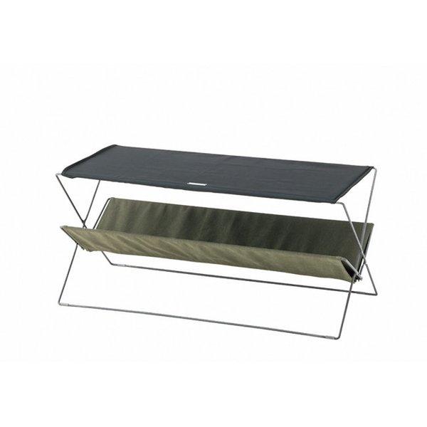 アウトドア テーブル 2020新作 フォールディング グリーン スチール 粉体塗装 ポリエステル 低価格 コットン