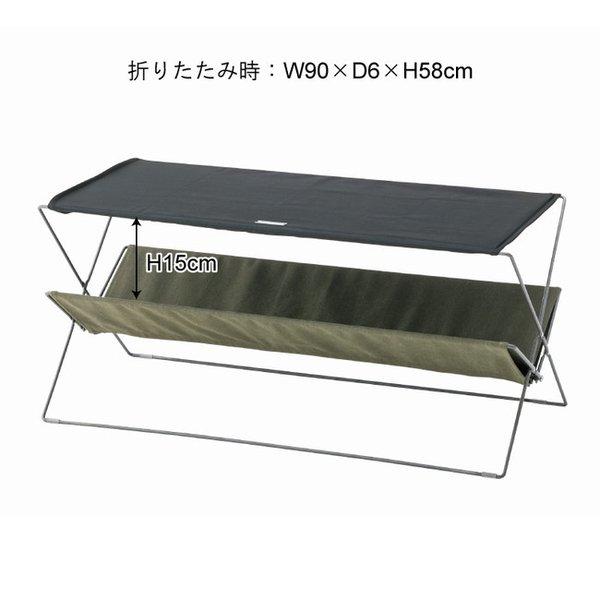 アウトドア テーブル フォールディング ネイビー 日本全国 送料無料 スチール 粉体塗装 コットン 2020新作 ポリエステル