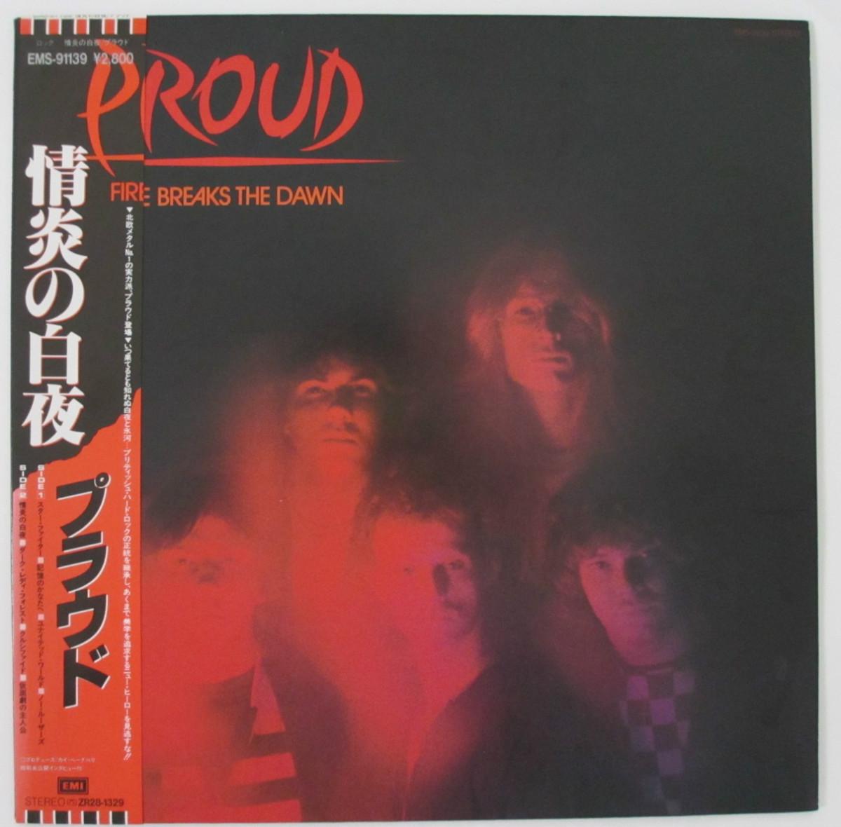 【中古レコード】FIRE BREAKS THE DAWN(情炎の白夜) PROUD(プラウド)