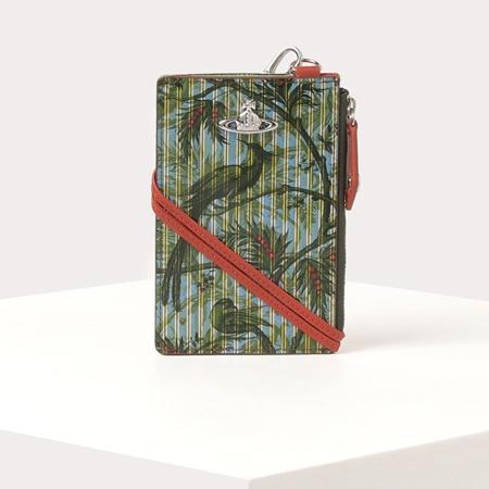 【クーポン対象外】 ヴィヴィアンウエストウッド フラグメントケース カードケース 小銭入れ パラダイスプリント グリーン Vivienne Westwood, ビューティーメイト f51b6aef