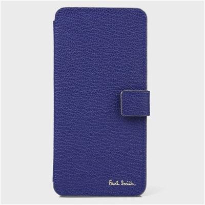 ポールスミス iPhone ケース カラーブロックゴート ブルー Paul Smith