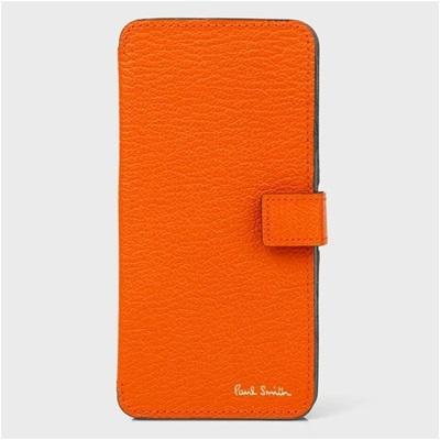 ポールスミス iPhone ケース カラーブロックゴート オレンジ Paul Smith