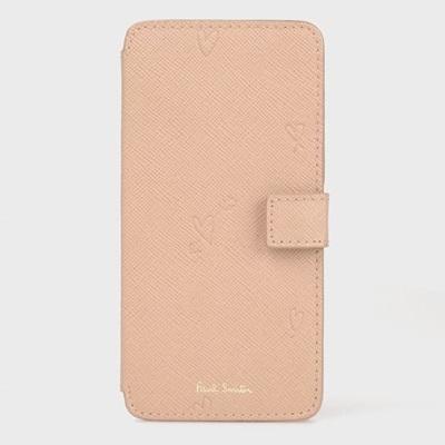 ポールスミス スミシーハート Paul ケース iPhone Smith ピンク モバイルケース