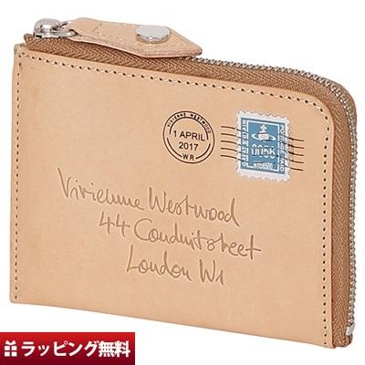 ヴィヴィアンウエストウッド Vivienne Westwood コインケース レディース エンベロープ ベージュ