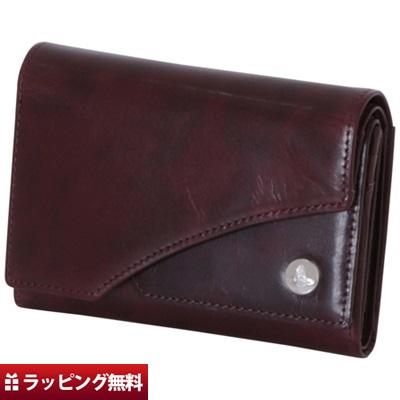 ヴィヴィアンウエストウッド Vivienne Westwood 折財布 メンズ 三つ折り ダブルフラップ ボルドー