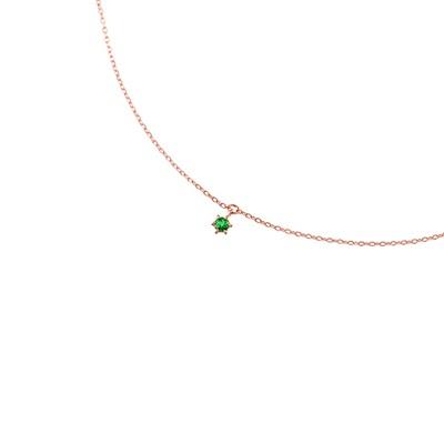 ヨンドシー ブレスレット K10ピンクゴールド 5月誕生石 4℃
