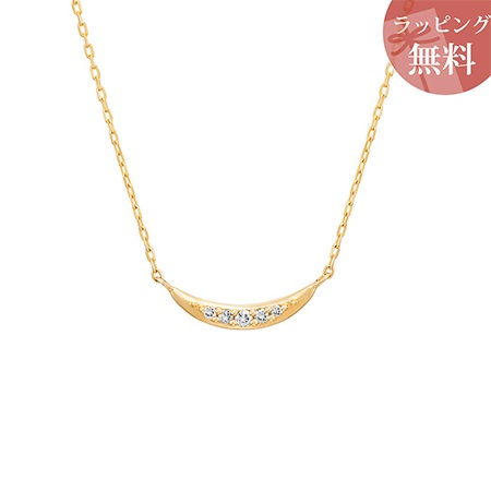 ヨンドシー ネックレス ダイヤモンド リバーシブル K10イエローゴールド 4℃