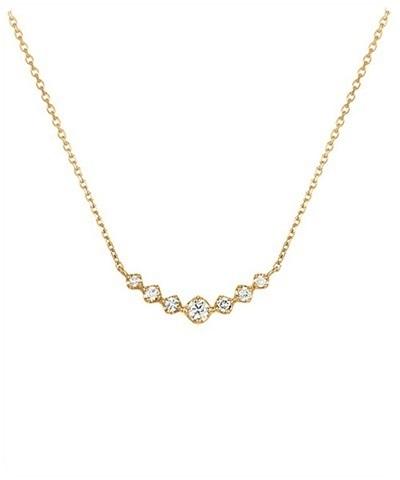 ヨンドシー ネックレス K18イエローゴールド ダイヤモンド