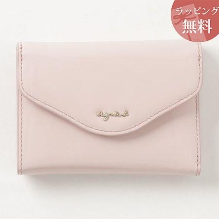 アニエスべー 財布 折財布 レディース ava ウォレット ピンク agnes b