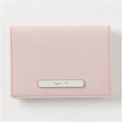 アニエスべー パスケース 定期入れ ピンク agnes b