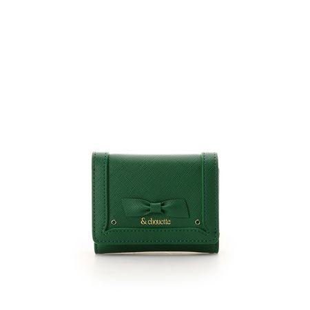 サマンサタバサ 折財布 バースストーンカラーパース 5月 グリーン &chouette