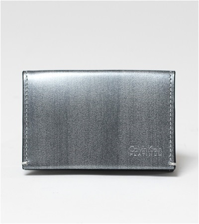 カルバンクライン ボルダー コインケース BOX型小銭入れ グレー