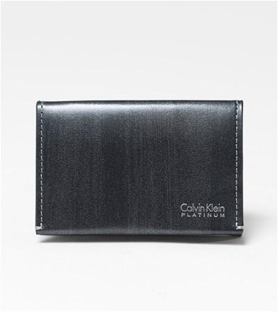 カルバンクライン ボルダー コインケース BOX型小銭入れ ブラック