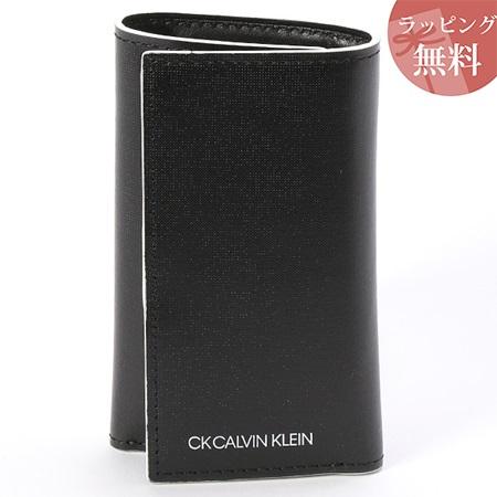 カルバンクライン キーケース メンズ ミニカラー ブラック CalvinKlein