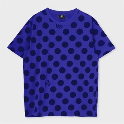ポールスミス ポルカドットプリントTシャツ パープル M