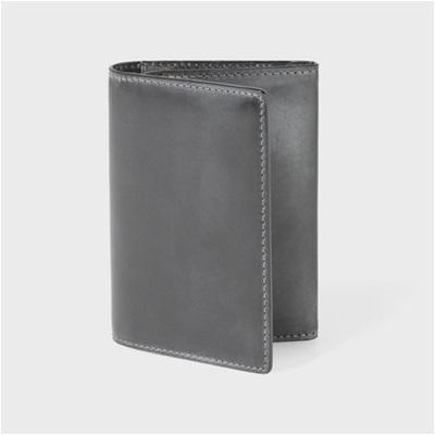 ポールスミス・コレクション PC蝋引きコードバン 名刺入れ カードケース ブラック