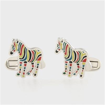 ポールスミス Cycle Stripe Zebra カフス 001