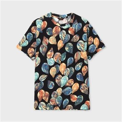 ポールスミス・コレクション バルーンプリント 半袖Tシャツ ブラック XL