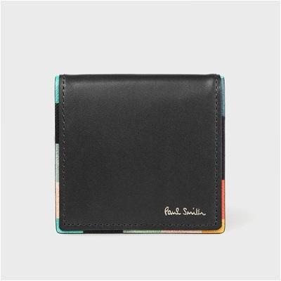 ポールスミス アーティストストライプポップ コインケース 小銭入れ ブラック