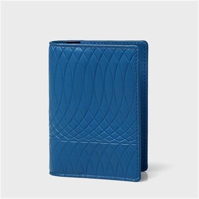 ポールスミス No.9マルチカラーインテリア カードケース 名刺入れ ブルー