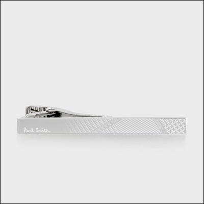 ポールスミス ストライプ&グレンチェック タイバー タイピン 002