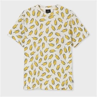 ポールスミス Ice Lolly プリント Tシャツ ホワイト XL