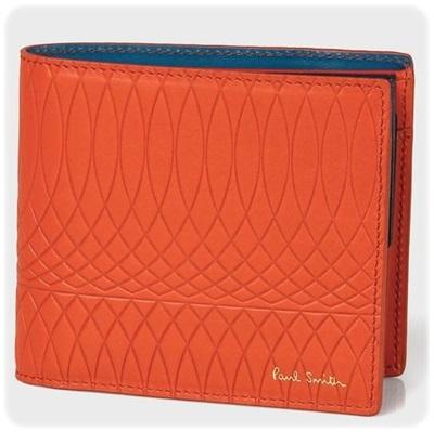 ポールスミス 折財布 No.9マルチカラーインテリア レッド