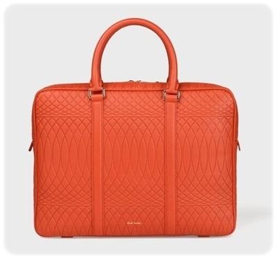 ポールスミス ビジネスバッグ No.9マルチカラーインテリア オレンジ