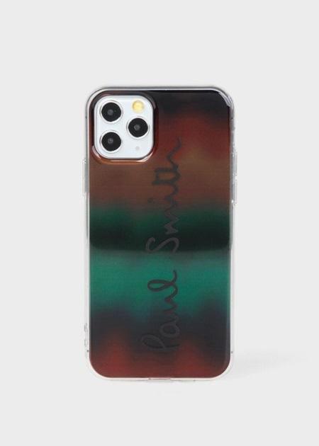 ポールスミス モバイルケース グラディエント アーティストストライプ iPhoneケース 000 Paul Smith
