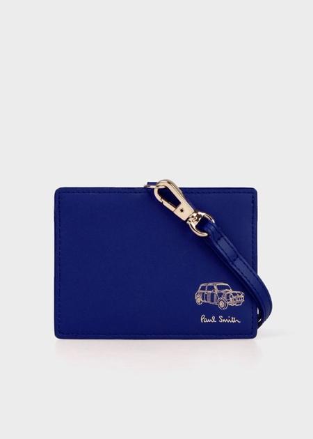 ポールスミス 財布 バッグ メンズ レディース 送料無料 正規品 新品 ギフト 10代 20代 30代 40代 クリスマス プレゼント ポールスミス IDケース ミニエンボス ブルー Paul Smith