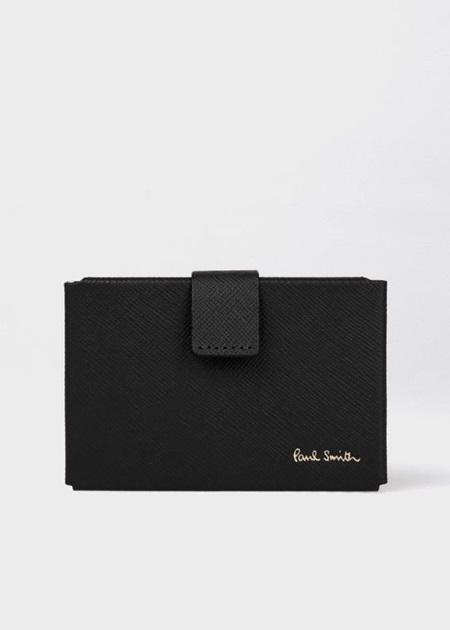 【予約販売品】 ポールスミス カードケース ウィメンズ オリガミ M ブラック Paul Smith, トレジャーマーケット 5a609a23