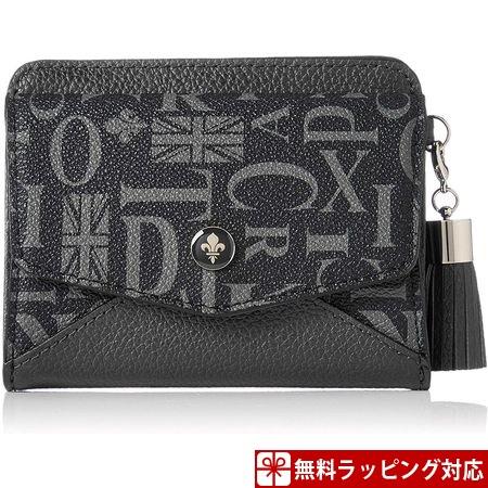 パトリックコックス 財布 レディース 折財布 クィーン 2つ折りBOX財布 ブラック PATRICK COX
