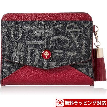 パトリックコックス 財布 レディース 折財布 クィーン 2つ折りBOX財布 レッド PATRICK COX