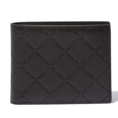 パトリックコックス 折財布 LOGO EMBOSS 小銭入れ付二つ折り財布 チョコ PATRICK COX
